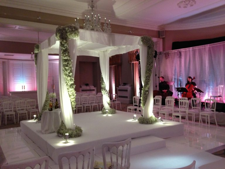 Rudding Park Uplit Chuppah wedding planning