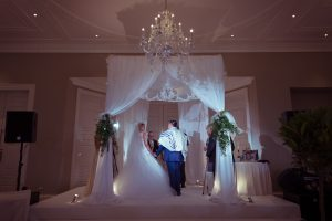 Julliette and Leon Chuppah at Rudding Park wedding planner