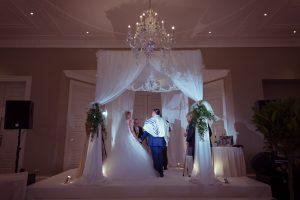 Julliette and Leon Chuppah at Rudding Park wedding planner