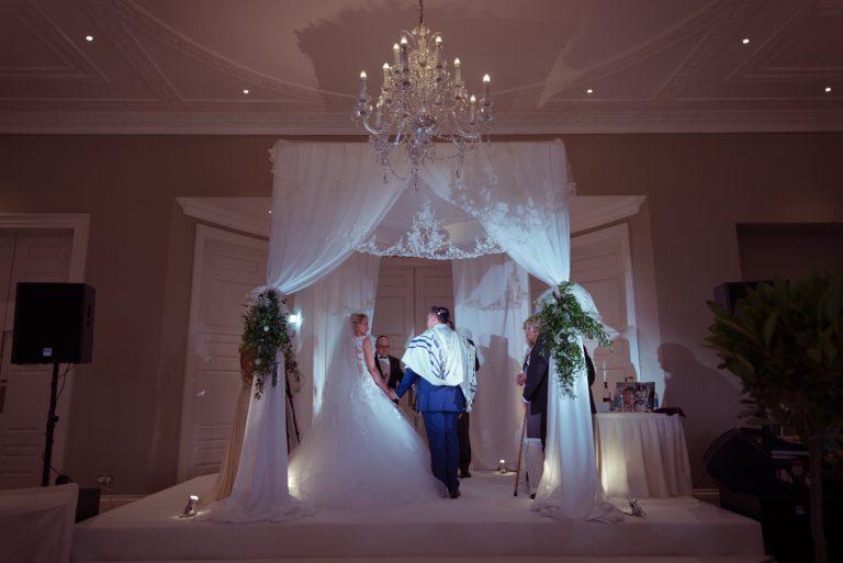 rudding park jewish wedding chuppah
