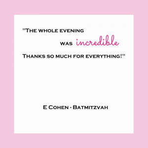 Review - Cohen Batmitzvah (1)