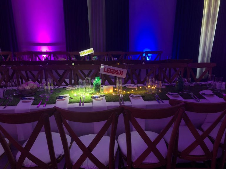 festival themed barmitzvah decor
